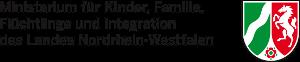 Ministerium für Kinder, Familie, Flüchtlinge und Integration des Landes Nordrhein-Westfalen (Logo)